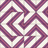 Reteo stripe seamless  pattern from  Moroccan tiles, ornaments of vinous colors. Royalty Free Stock Photo