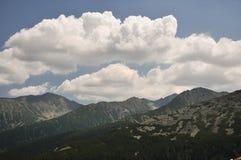 Retezat山,罗马尼亚 库存图片