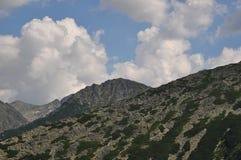 Retezat山,罗马尼亚 免版税库存图片