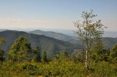 Retezat山,罗马尼亚 免版税库存照片