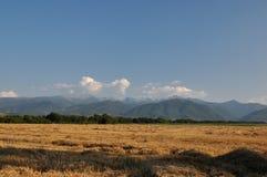 Retezat山,罗马尼亚 库存照片