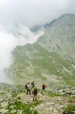 Retezat berg Arkivbild