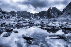 Retezat berg Arkivbilder