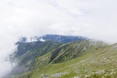 Retezat berg Royaltyfria Bilder