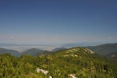 Retezat berg, Rumänien Royaltyfria Bilder
