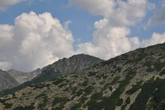 Retezat berg, Rumänien Royaltyfri Bild