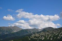Retezat berg, Rumänien Arkivfoto
