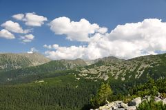 Retezat góra, Rumunia Zdjęcie Royalty Free