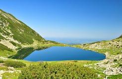 Retezat glaciar lake Stock Images