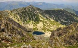 Retezat glaciar lake Royalty Free Stock Image