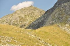 Retezat Mountains. Glacier Relief in Retezat Mountains,Romania stock photo