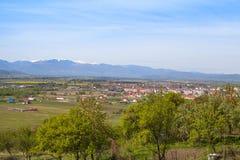 Retezat moutains, Rumänien Arkivbilder