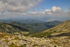 Retezat national park. A view from retezat national park royalty free stock image