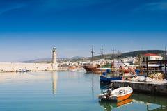 Rethimno, Greece imagem de stock