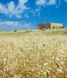 Руины старых крепости и городка в Rethymno стоковая фотография rf