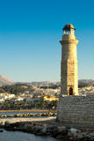 Rethymno bay. Crete. stock photos