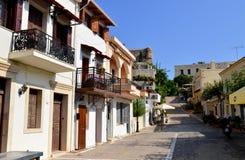 Rethymno city editorial Royalty Free Stock Photography