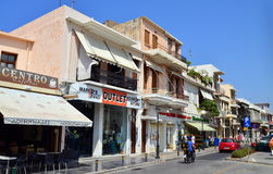 Rethymno city editorial Royalty Free Stock Photos