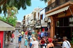 Rethymno city editorial Royalty Free Stock Photos