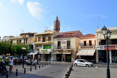 Rethymno city editorial Royalty Free Stock Image