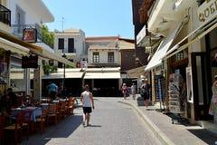 Rethymno city editorial Stock Photo