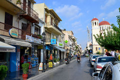 Rethymno city editorial Stock Images