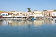 Rethymno on Crete Stock Image