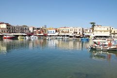 Rethymno, Crete Royalty Free Stock Photography