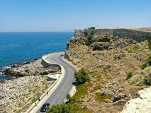 Rethymno Festung Lizenzfreies Stockbild