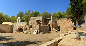 Rethymno Fortezza chapel ruins Stock Image