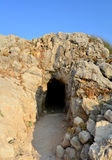 Rethymno Fortezza fortress cave Stock Photos