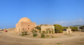 Rethymno Fortezza fortress chapel Stock Photography