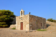 Rethymno Fortezza fortress chapel Stock Images