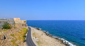 Rethymno Fortezza fortress Stock Photography