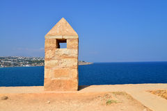 Rethymno Fortezza fortress detail Royalty Free Stock Image