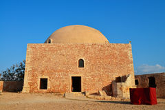 Rethymno Fortezza fortress Mosque Royalty Free Stock Photography