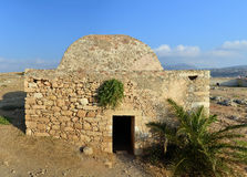 Rethymno Fortezza fortress Mosque Royalty Free Stock Images