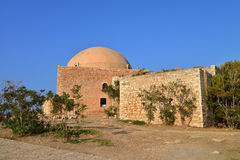 Rethymno Fortezza fortress Mosque Royalty Free Stock Photos