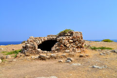 Rethymno Fortezza fortress ruins Stock Photos