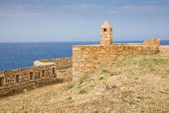 Rethymno Fortress, Crete Royalty Free Stock Photography
