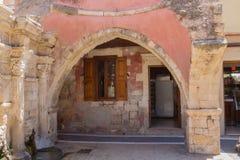 Rethymno, Grèce 26 juillet 2016 : La fontaine de Rimondi Photo stock