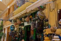 Rethymno, Greece - August  3, 2016:  Street sights. Royalty Free Stock Photos