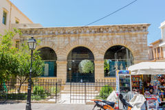 Rethymno, Greece. July  26. 2016: The Archaeological Museum of R Stock Images