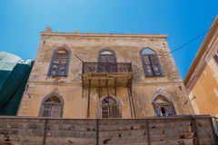 Rethymno, Greece. July  26. 2016: Old building in Old City of Re Royalty Free Stock Image