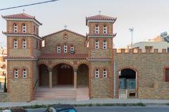 Rethymno, Greece - July  28, 2016: Orthodox church Stock Photos