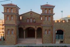 Rethymno, Greece - July  28, 2016: Orthodox church Royalty Free Stock Photo