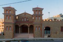 Rethymno, Greece - July  28, 2016: Orthodox church Royalty Free Stock Image