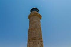 Rethymno, Griechenland - 30. Juli 2016: Der alte Leuchtturm Stockfoto