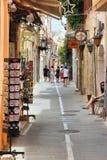 Rethymno, Griekenland Stock Foto