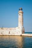 Rethymno lighthouse Stock Photos